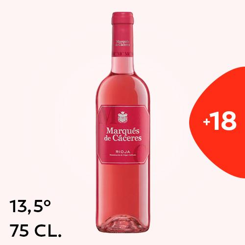 Rioja Marques De Caceres Rosado 75Cl