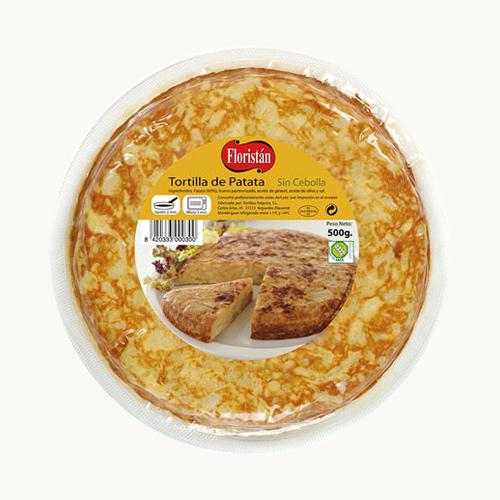 Tortilla Española Sin Cebolla