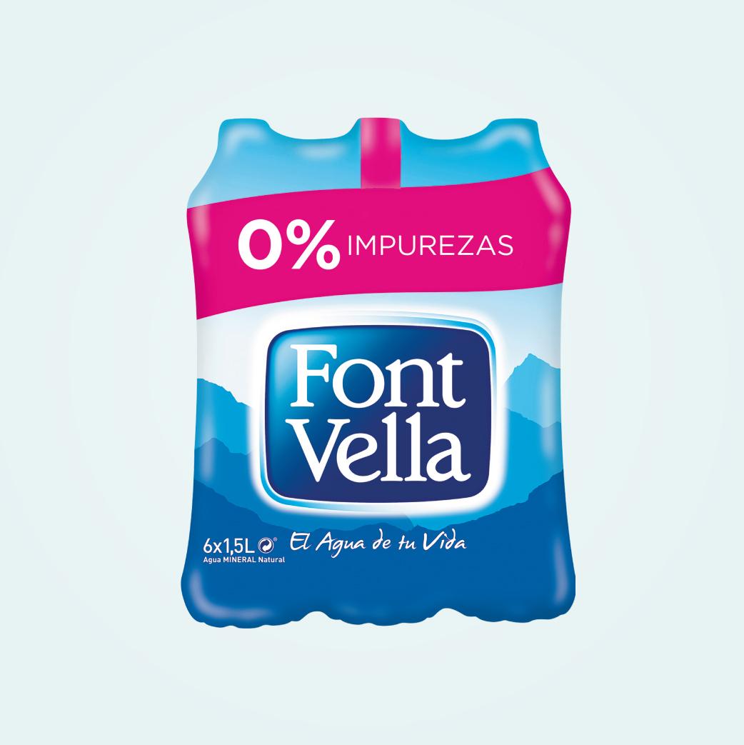 Agua Font Vella 1,5L Px6