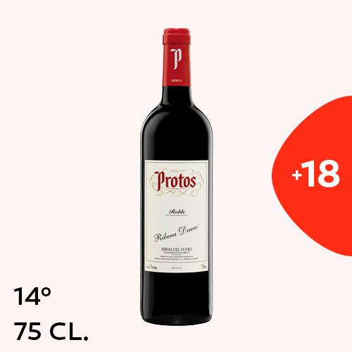 Ribera Duero Protos Tinto 75Cl