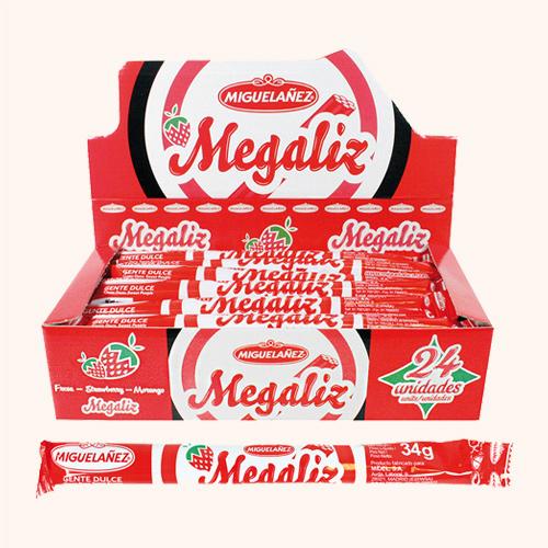 Mgz Megaliz Rojo 34G