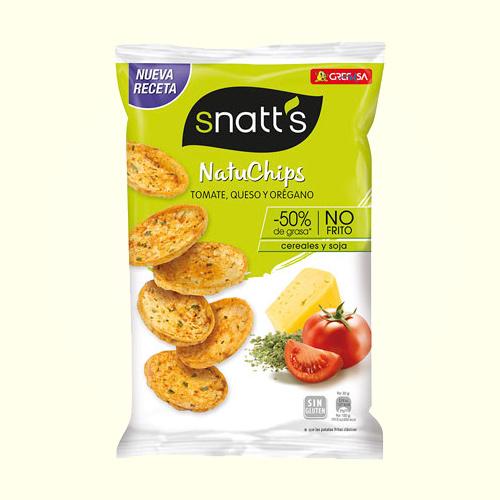 Snatts Natuchips Tomate 65G