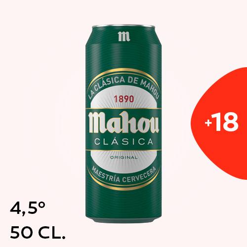 Mahou Clasica 50Cl