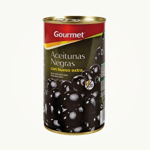 Gourmet Aceituna Negra 185G