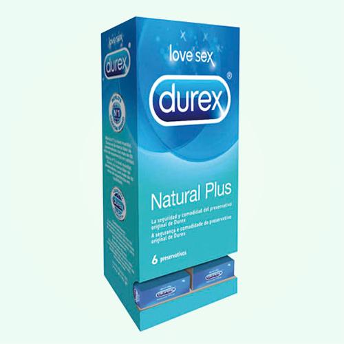 Preservativo Durex Natural 6Ud