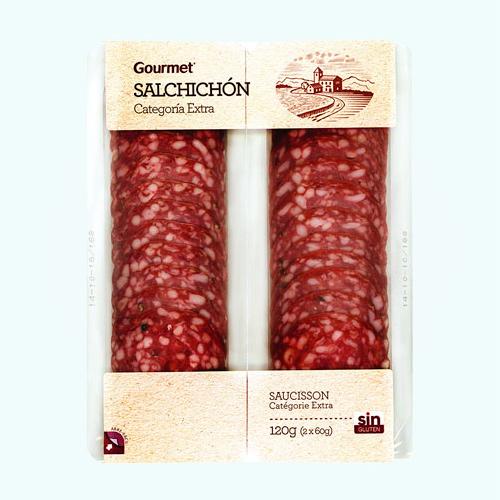 Gourmt Salchicon Lonchas 2*60G