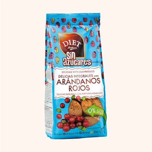 Galleta Arandanos Sin Azucar Diet 175G