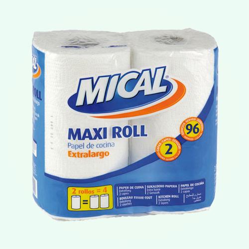 Papel Cocina Mical Maxi 2Ud