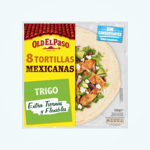 Tortilla De Trigo Old El Paso