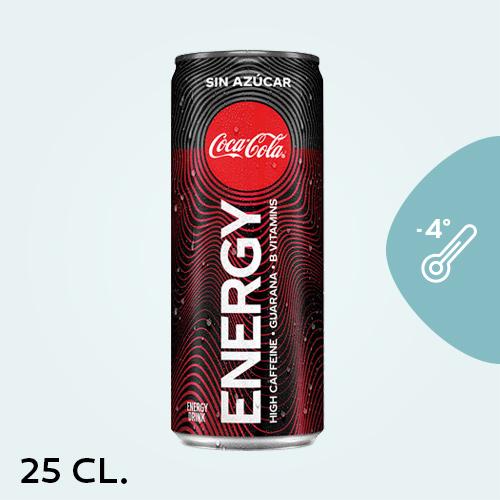 Coca Cola Energy Zero 25Cl