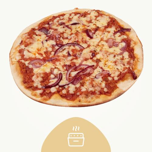 Pizza Fina Barbacoa 390G - Recién Horneada