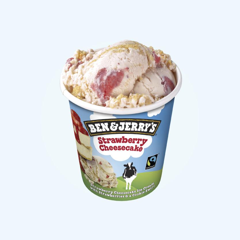 Ben&Jerrys Strawberry Cheescake 465Ml
