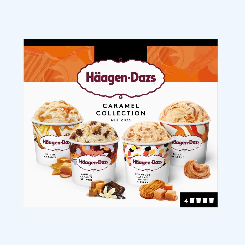 Haagen Dazs Minicup Caramelo 4Ud