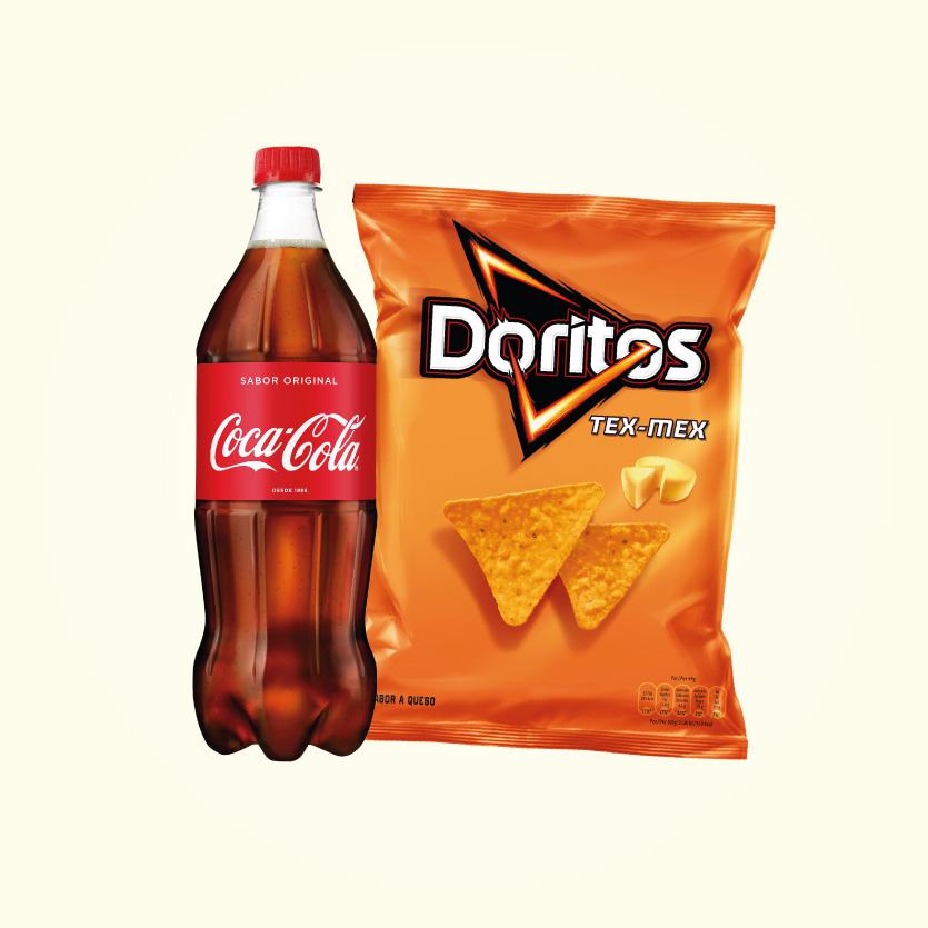 Combo Refresco 1L + Snacks Grande