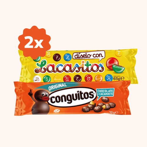 Dos Lacasitos/Conguitos