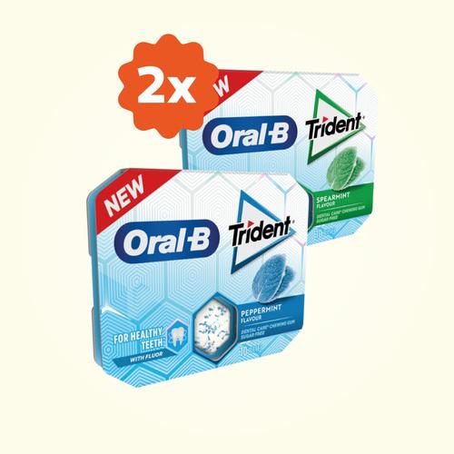 Dos Trident Oral B